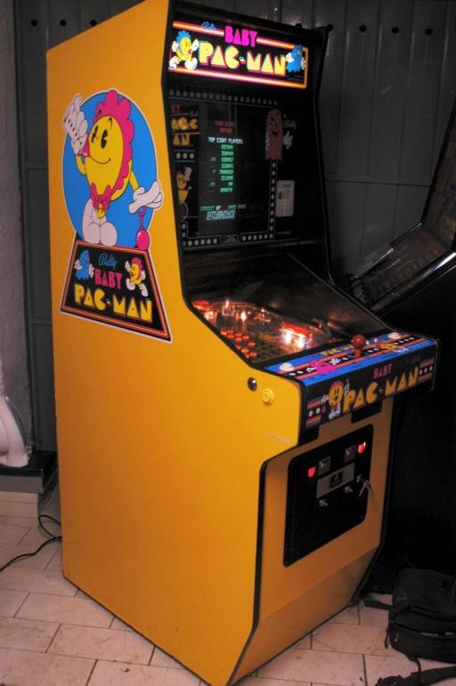 vernimark arcades - Bally Midway Baby Pac-Man