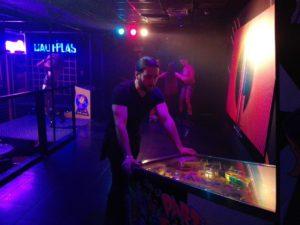 vernimark noleggio videogiochi arcade flipper bally party zone