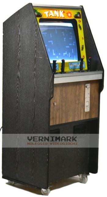 vernimark noleggio videogiochi arcade TANK ATARI/KEE BERTOLINO