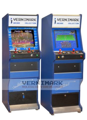 vernimark noleggio videogiochi arcade anni '80