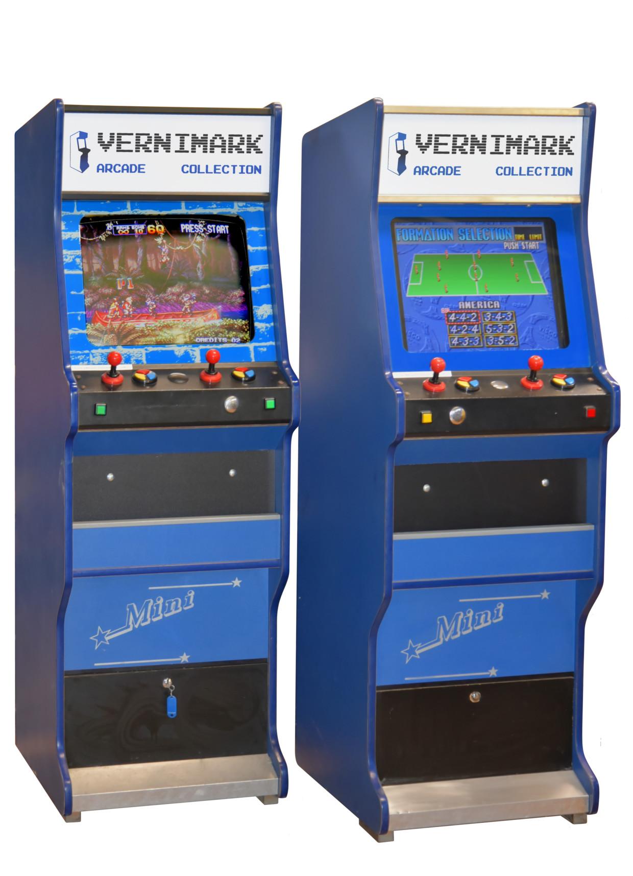 Arcade Multigame Mini Vernimark Noleggio Videogiochi