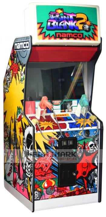 vernimark noleggio videogiochi arcade anni 80 - Point Blank 2 Namco