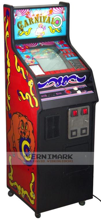vernimark noleggio videogiochi arcade CARNIVAL SEGA GREMLIN