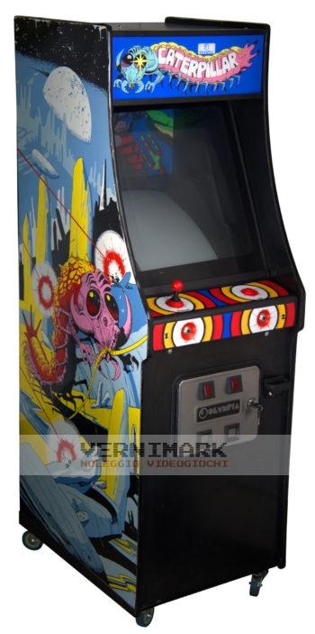 vernimark noleggio videogiochi arcade CATERPILLAR OLYMPIA