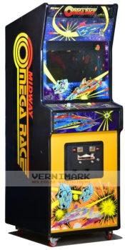 vernimark noleggio videogiochi arcade OMEGA RACE MIDWAY
