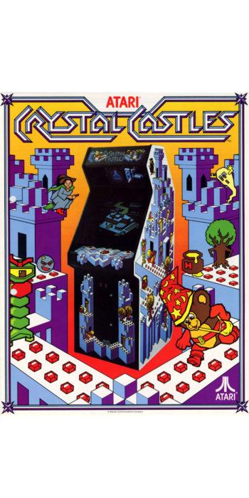 vernimark noleggio videogiochi arcade anni 80 - Crystal Castle Atari
