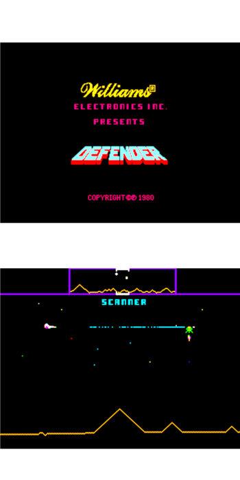 vernimark noleggio videogiochi arcade DEFENDER VGG