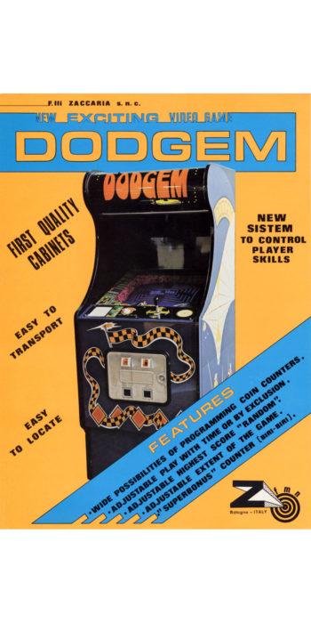 vernimark noleggio videogiochi arcade DODGEM ZACCARIA