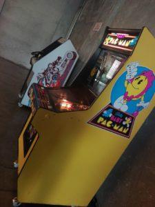 vernimark noleggio videogiochi arcade baby pac-man