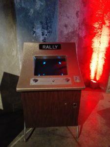 vernimark noleggio videogiochi arcade rally pong