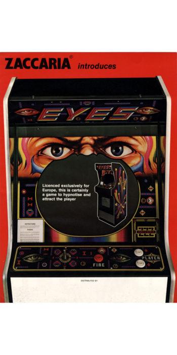 vernimark noleggio videogiochi arcade EYES ZACCARIA