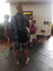 vernimark noleggio videogiochi arcade midway baby pac-man