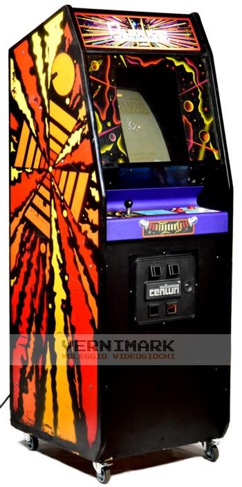 vernimark noleggio videogiochi arcade GYRUSS KONAMI CENTURI