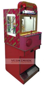 vernimark noleggio videogiochi arcade anni 80 mini gru distributori