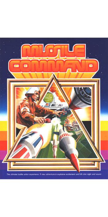 vernimark noleggio videogiochi arcade MISSILE COMMAND ATARI/SEGA