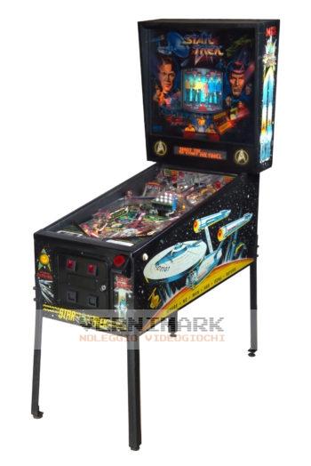 vernimark noleggio videogiochi flipper arcade STAR TREK