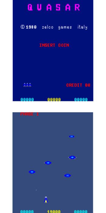 vernimark noleggio videogiochi arcade QUASAR ZACCARIA