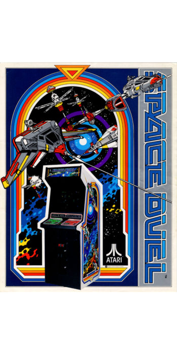 vernimark noleggio videogiochi arcade SPACE DUEL ATARI BERTOLINO