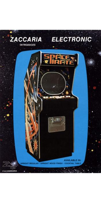 vernimark noleggio videogiochi arcade SPACE PIRATE ZACCARIA