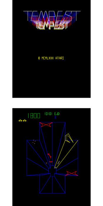 vernimark noleggio videogiochi arcade TEMPEST ATARI