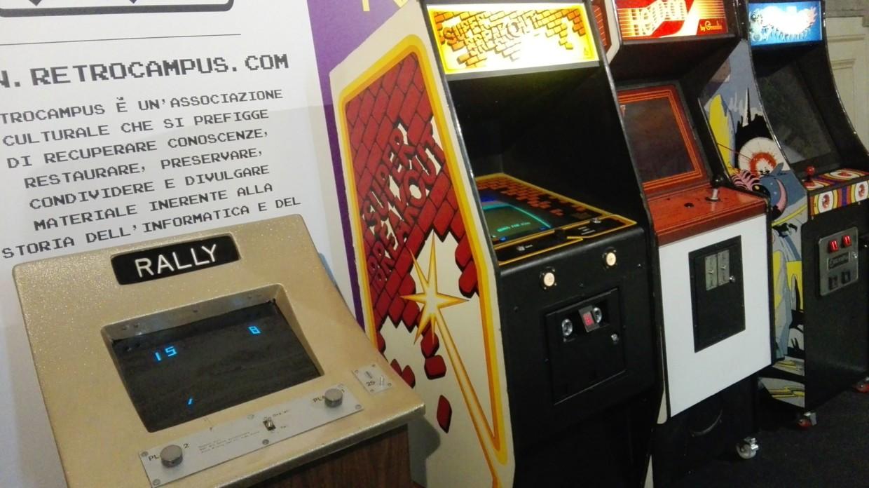 vernimark noleggio videogiochi arcade evento wired next fest